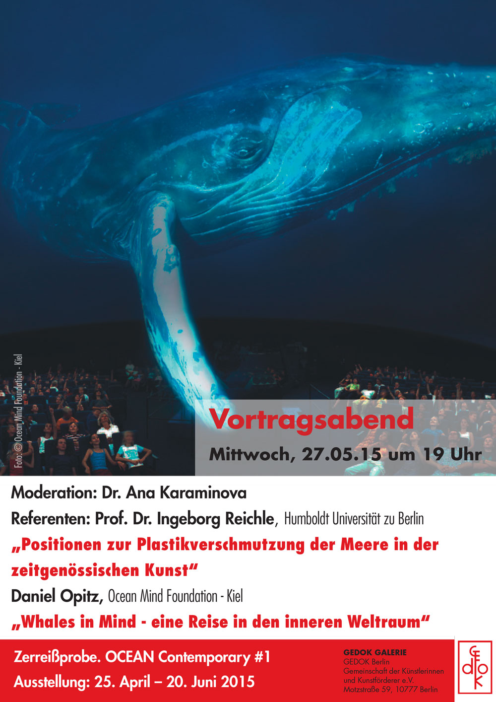 Vortragsabend OCEAN Contemporary ©